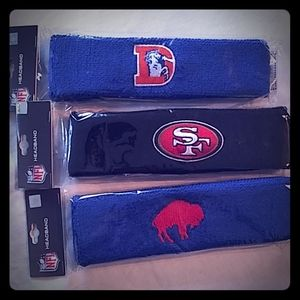 NFL retro vintage headbands New